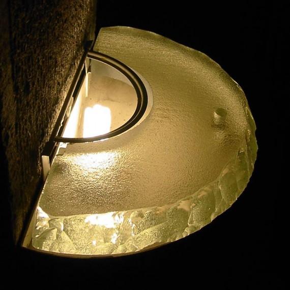 Luminaires diffuseurs de lumière Cimetière du Père Lachaise Maître Verrier Olivier Juteau