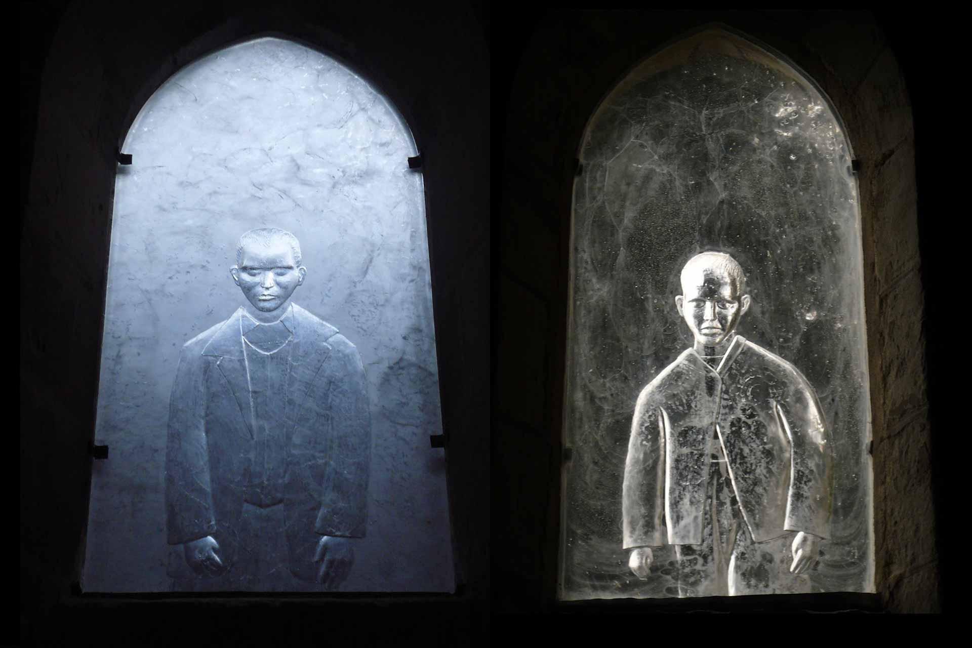 Vitraux pour l'Abbatiale de Saint-Gildas-des-Bois par le Maître Verrier Olivier Juteau